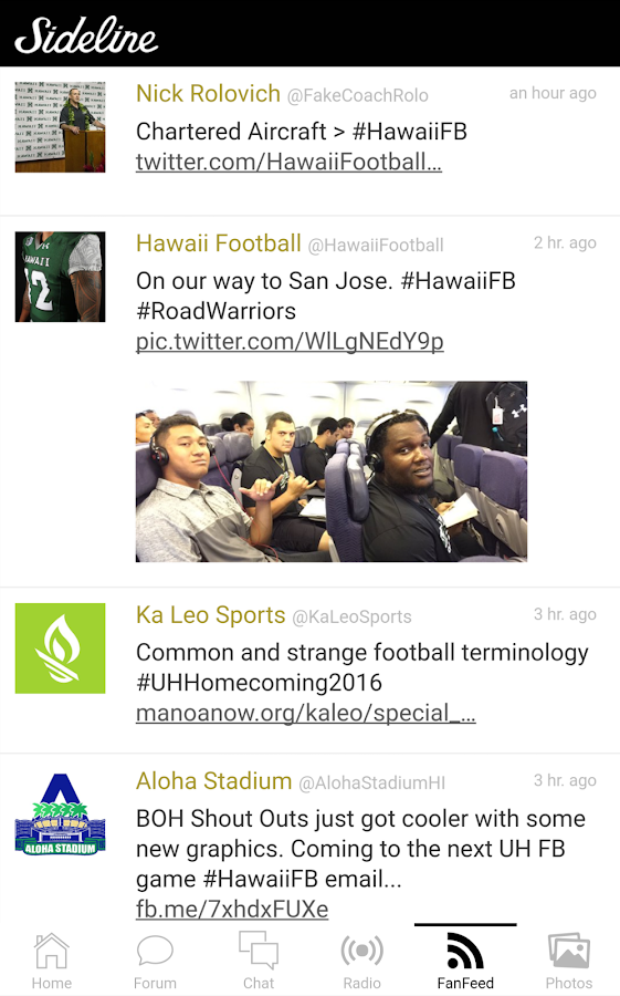 Sideline Hawaii- screenshot