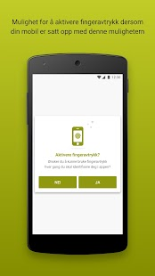 Lillesands Sparebank Mobilbank - náhled