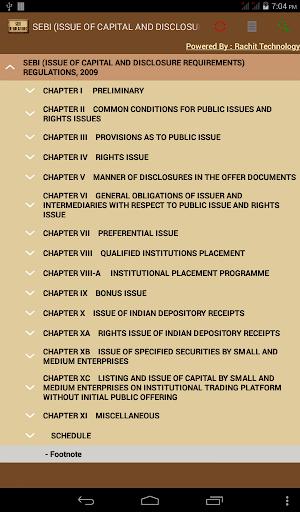 SEBI ICDR Regulations 2009