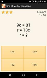 King of Math v3.14159