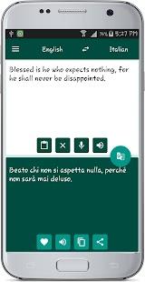English Italian Translate - náhled