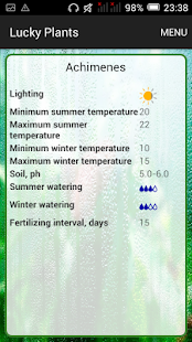 Lucky Plants: watering manager- screenshot thumbnail