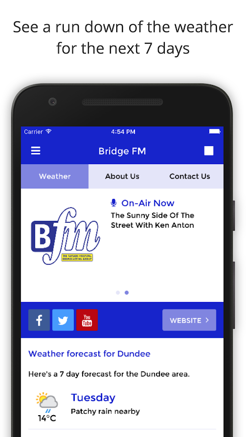 Bridge FM- screenshot