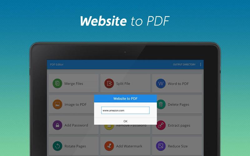 PDF converter pro & PDF editor - pdf merge Screenshot 10