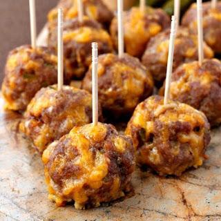 Cheeseburger Meatballs.