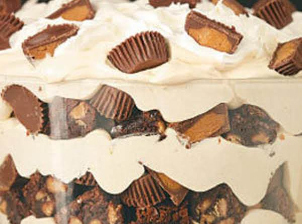 Amazing Peanut Butter & Brownie Trifle
