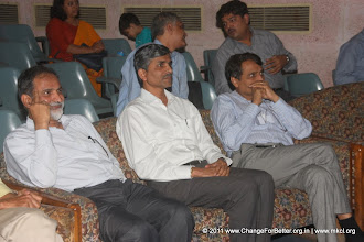 Photo: Shri. Anil Shinde, Shri. Vevek Sawant and Shri. Suresh Prabhu.