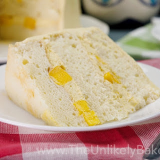 Mango Chiffon Cake with Whipped Mango Cream Frosting Recipe