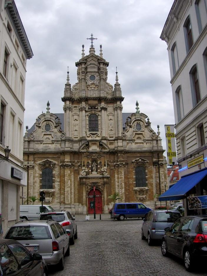Eglise Saint Jean-Baptiste au Béguinage à Bruxelles