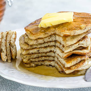 Eggless Perfectly Fluffy Pancakes.