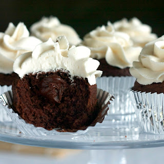 Triple Irish Cupcakes