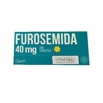 furosemida 40mg blister 10tabletas laproff