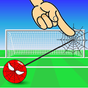 Spider Shoot Goal-  Rope Swing Physics icon