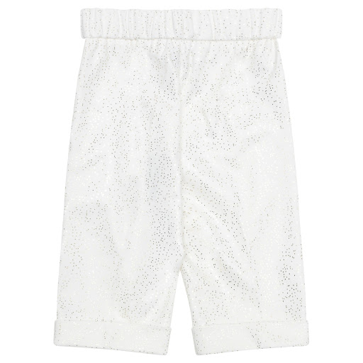Thumbnail images of Special Day Ivory Sparkle Trousers