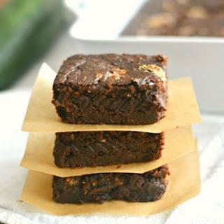 Zucchini Chocolate Espresso Brownies