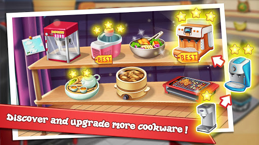 Rising Super Chef 2 : Cooking Game  captures d'u00e9cran 2