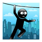 Stickman Zipline Hero