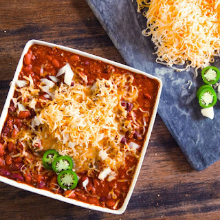 Spicy Crock Pot Chili.