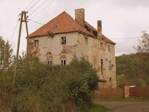 Photo: Budynek gospodarczy grangii.