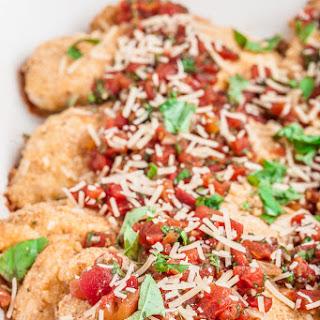 Parmesan Bruschetta Chicken Bake