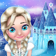 Ice Princess Doll House Games icon