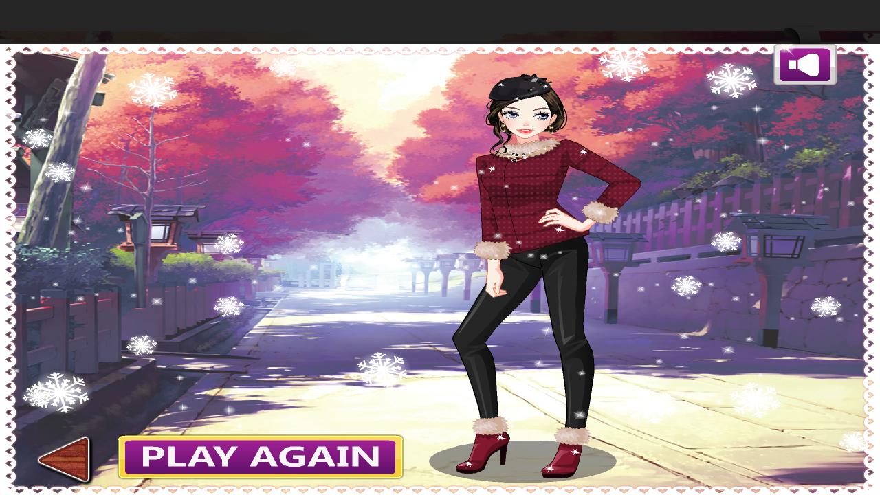 Dress up games girl - Fashion Girl Dress Up Game Screenshot