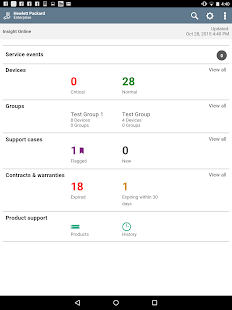 HPE Support Center- screenshot thumbnail