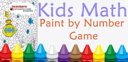 Kids Math Paint by Number Game - Android app on AppBrain
