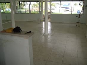 Photo: tiled entire living space good idea when leaving next to ocean Clearwater, Florida