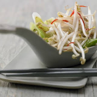 Stir-Fried Mung Bean Sprouts.