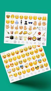 Color Emoji Keyboard 9 - náhled
