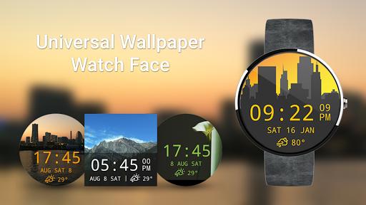 Universal Wallpaper Watch Face