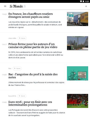 Le Monde, l'info en continu screenshot 8