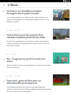 [Download Le Monde, l'info en continu for PC] Screenshot 8