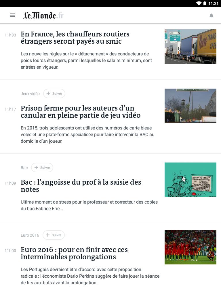 Le Monde, l'info en continu screenshot #9