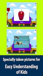 Kids picture dictionary, words- screenshot thumbnail
