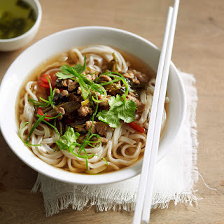 Noodle Soup With Pork And Pickled Vegetables