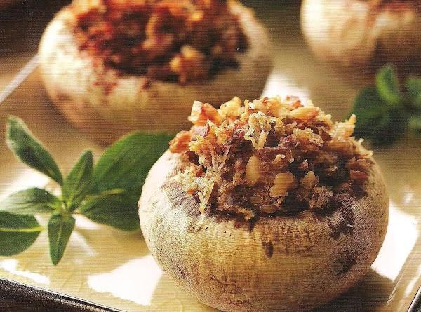 Italilan Stuffed Mushrooms Recipe