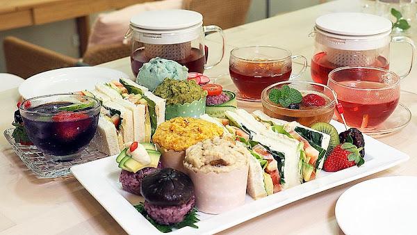 和和恬藥膳廚房 Vegan下午茶│漢方養生藥膳甜點(總圖二期、ikea附近餐廳)