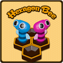 Hexagon Bee icon