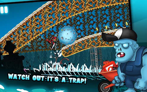 Zombie Shooter Motorcycle Race 24