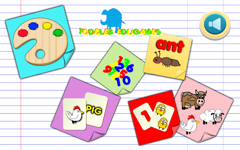 Toddler EduGames - Colors- screenshot thumbnail