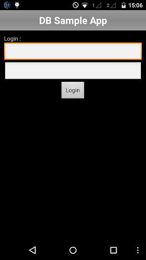 DB Sample App