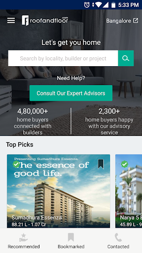 RoofandFloor Property Search 1.0.0 screenshots 1