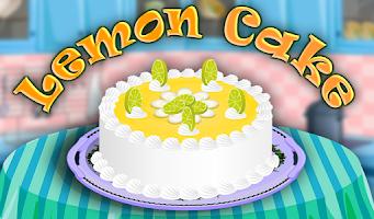 Screenshot of Lemon Cake Cooking