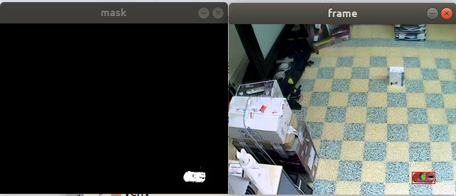 OpenCV Python 강좌 - 동영상의 배경 제거하고 움직이는 물체