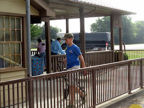 Photo: Case Alexander going after another load of concessions supplies.  Was a great day in concessions!   HALS Public Run Day  2016-0716  RPWhite