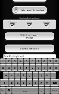 Black and White Keyboard screenshot 5