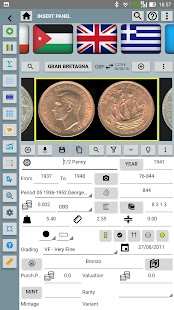 Pocket Coins Collection Lite- screenshot thumbnail