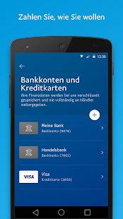 paypal apps bei google play. Black Bedroom Furniture Sets. Home Design Ideas
